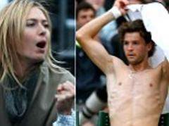 maria sharapova cheers on boyfriend grigor dimitrov during queen's tournament